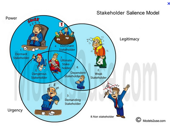 how to use salience model