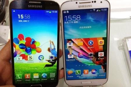 Ilustrasi Samsung Galaxy s4 Original dan Replika