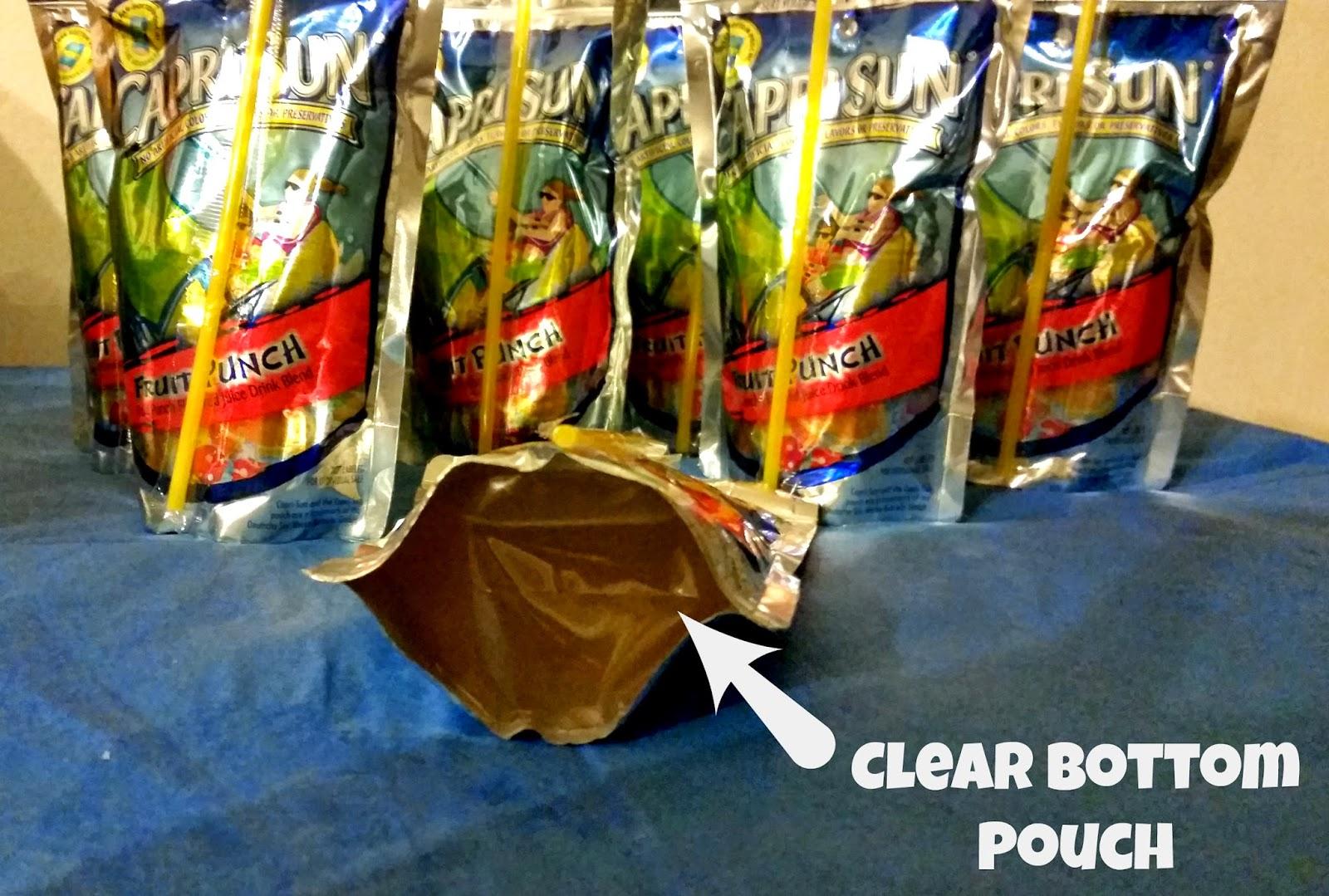 Capri Sun new clear bottom pouch #GolazoKraft #shop