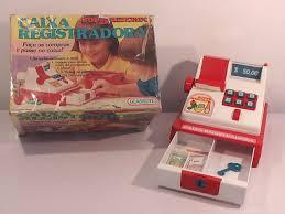 brinquedos anos 90 caixa registradora