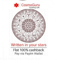 CosmoGuru :Guide for Astrology, Horoscope, Vastu, Tarot, Way of Living 100% Cashback via paytm : Buytoearn