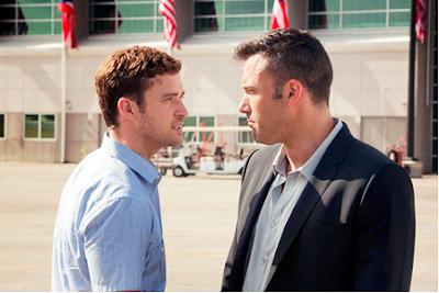 Justin Timberlake y Ben Affleck en Runner, Runner