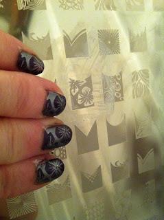 Nailart stamping