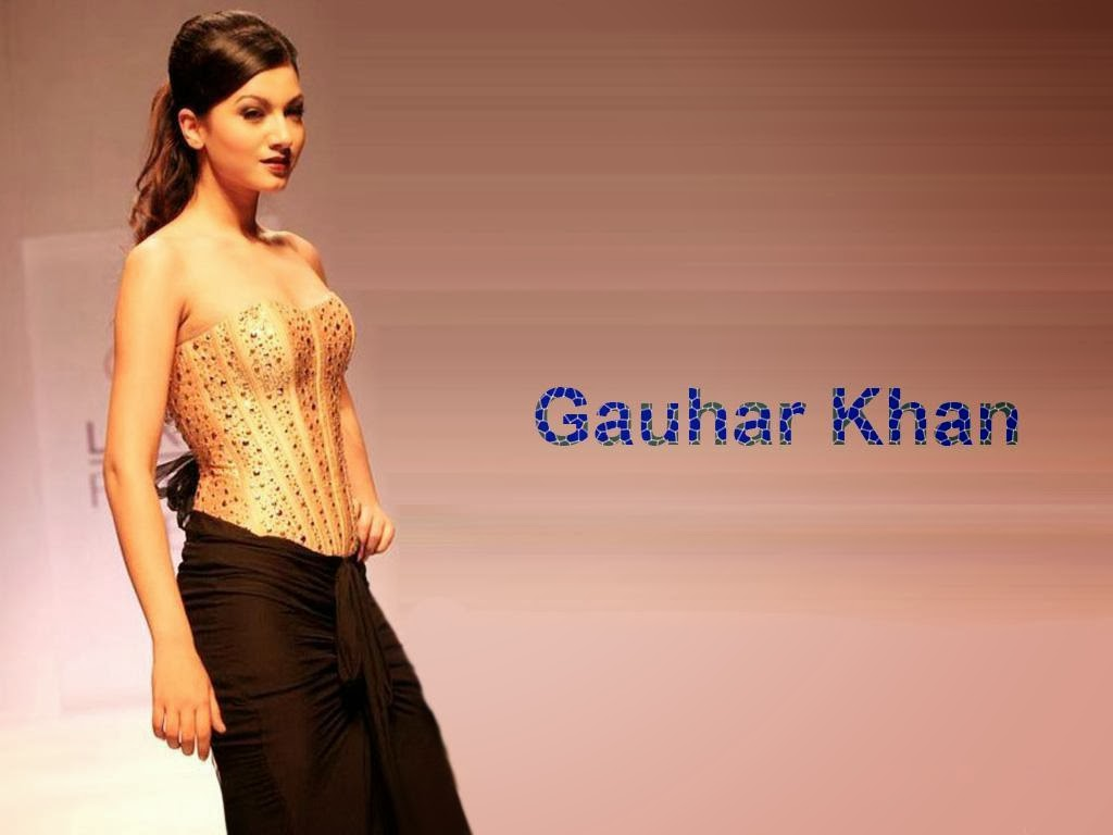 gauhar khan wallpapers - photo #5