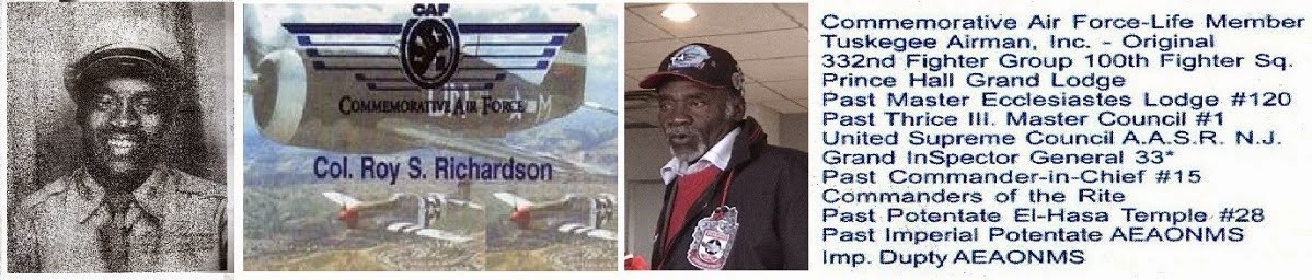 Roy Richardson - Tuskegee Airman