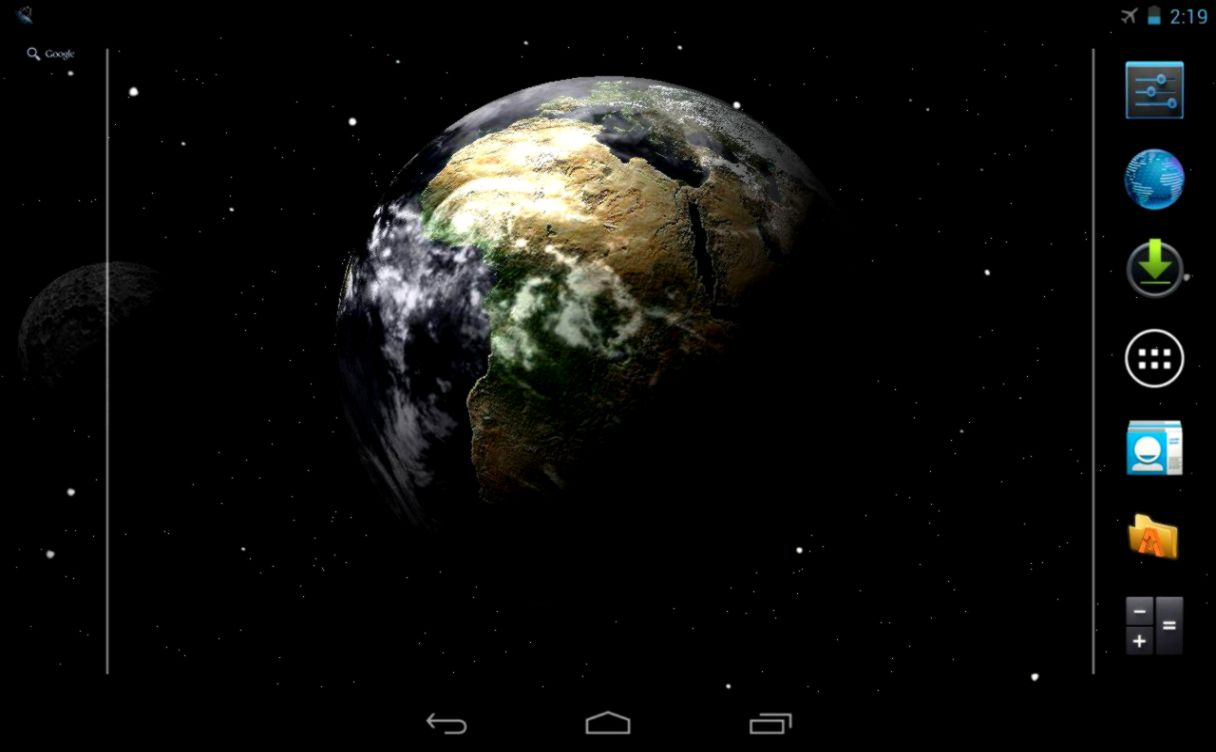 View Original Size Earth Live Wallpaper FREE Google Play Store Revenue