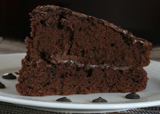 Torta de chocolate sin huevo