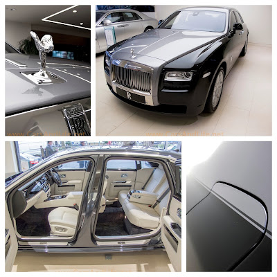 Rolls-Royce Ghost in Details