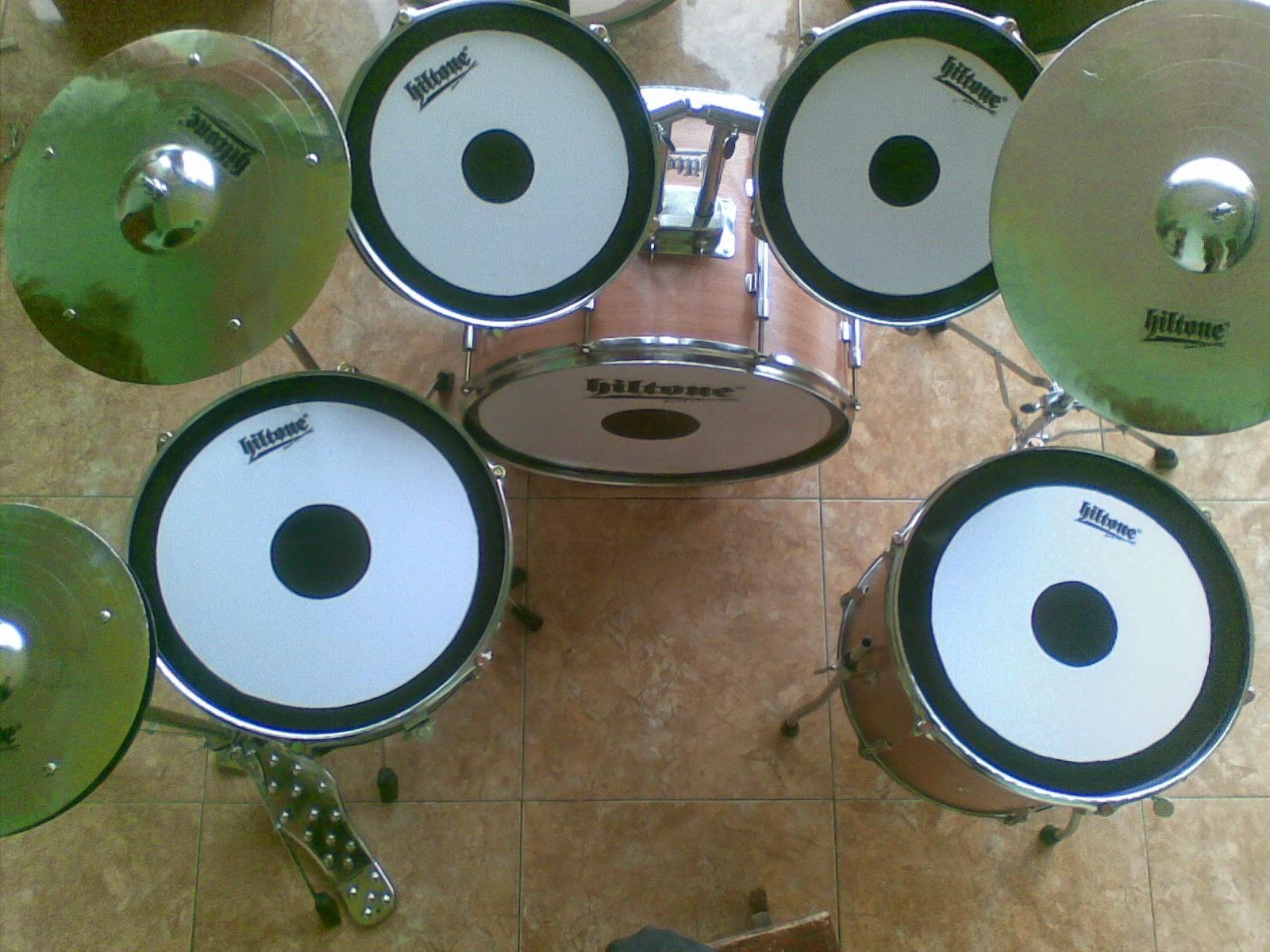 Drum Mini Full Set 1 Hadroh Gambar
