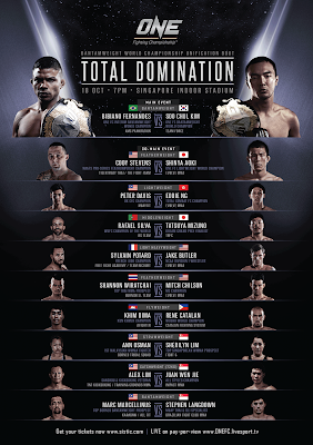 ONE FC Total Domination full card