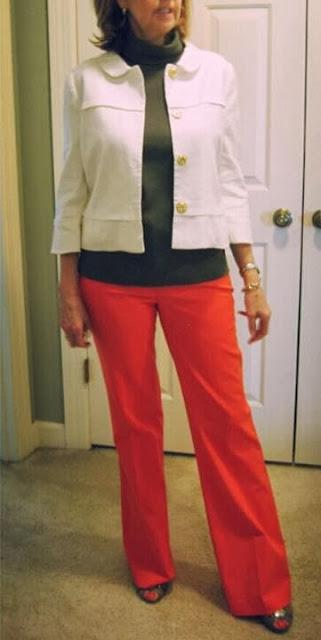 business casual attire, business casual, business professional attire, winter white, jacket, winter white jacket