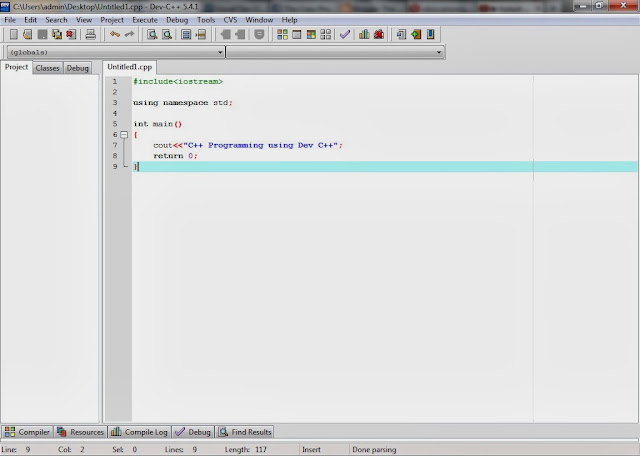 Download Dev C++ 5.5.3 C/C++ IDE for Free