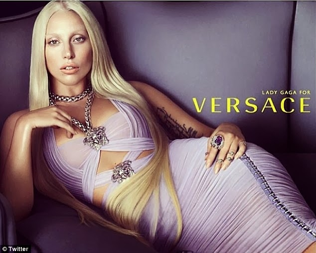 donatella versace, versace, lady gaga, gagz, the fame, blond girls, fashion design, fashion, vogue