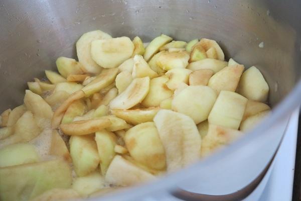 omenahillon valmistus