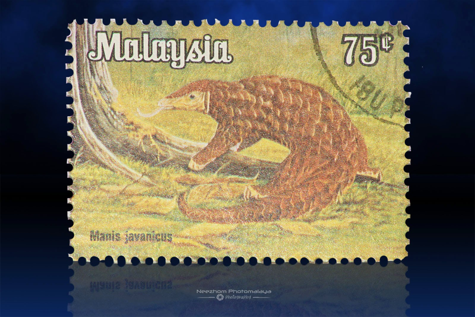 National Animals Series 1979 stamps - 75 Sen Manis Javanicus