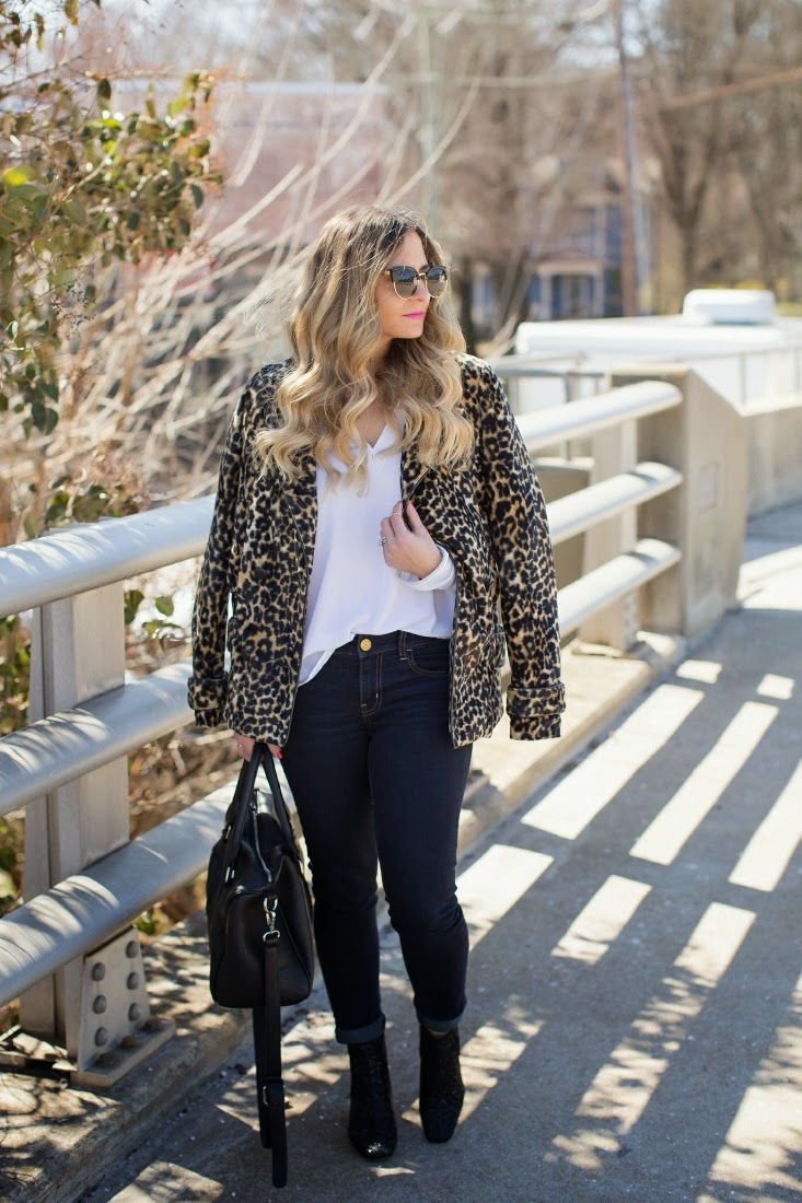 Rodarte for Target Leopard Coat