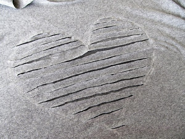 Torn Heart Drawings