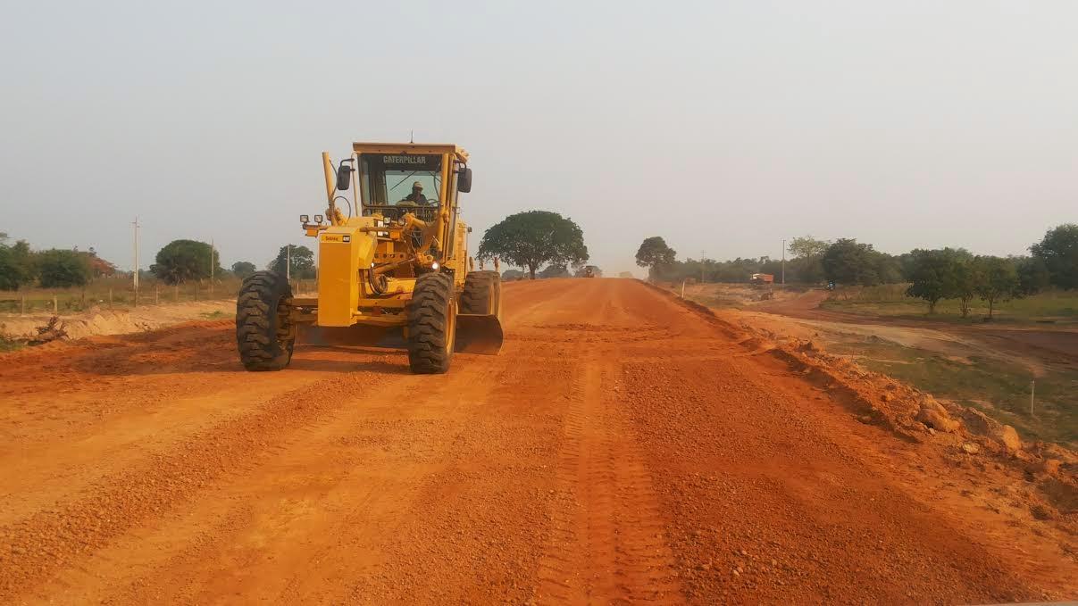 Trecho da pavimentação da MT 326 de Nova Nazaré até a balsa do Rio das Mortes poderá ficar pronta até o final de novembro