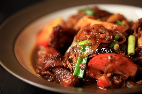 Resep Ayam Masak Kecap JTT