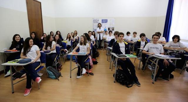 Sao Paulo'da bir sınıf
