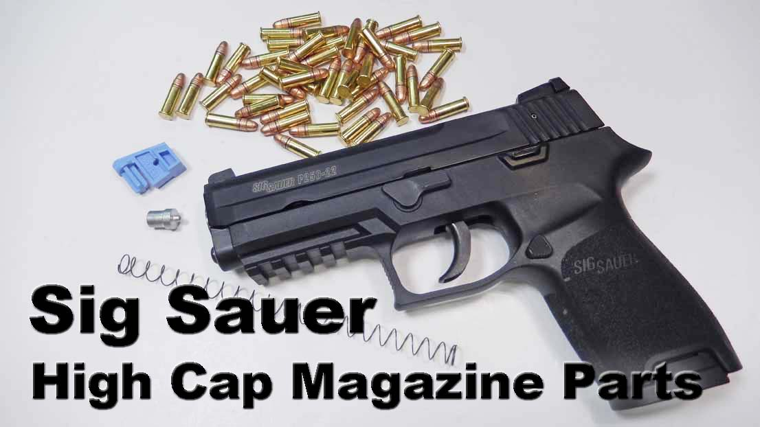Sig Sauer High Capacity Magazine Upgrades