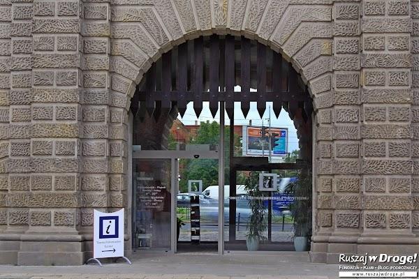 Gdańsk - informacja turystyczna w Bramie Wyżynnej