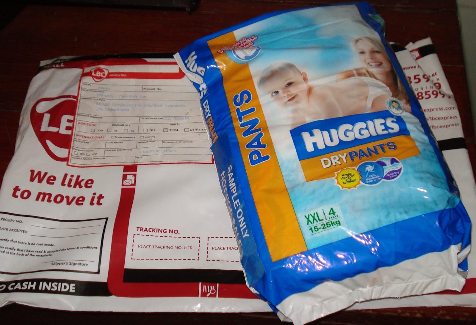 Simply Homebased Mom - The Practical Filipina: Huggies Trial Pack ...