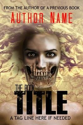horror pre-designed book cover
