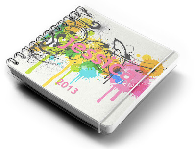 free personalised planner, free personalised notebook, make your own planner and notebook