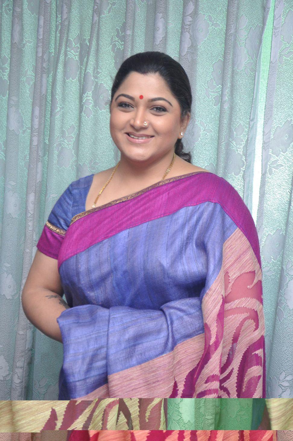 Kushboo Tamil Hot Pretty kushboo hot in silk saree latest stills   one cine gallery