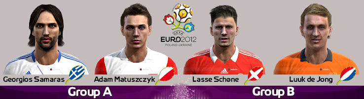 PES 2012 EURO 2012 Facepack by Fanta