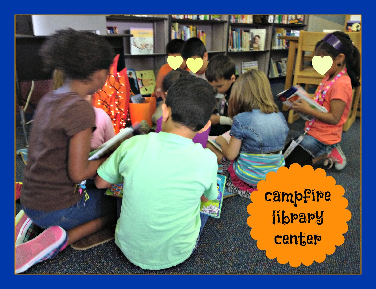 Library Learners Campfire Story Center We Love It