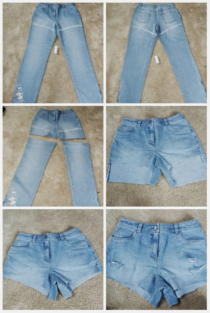 Rylee's Corner : DIY High Waisted Shorts