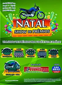 NATAL SHOW DE PRÊMIOS