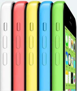 iPhone 5c in different colors