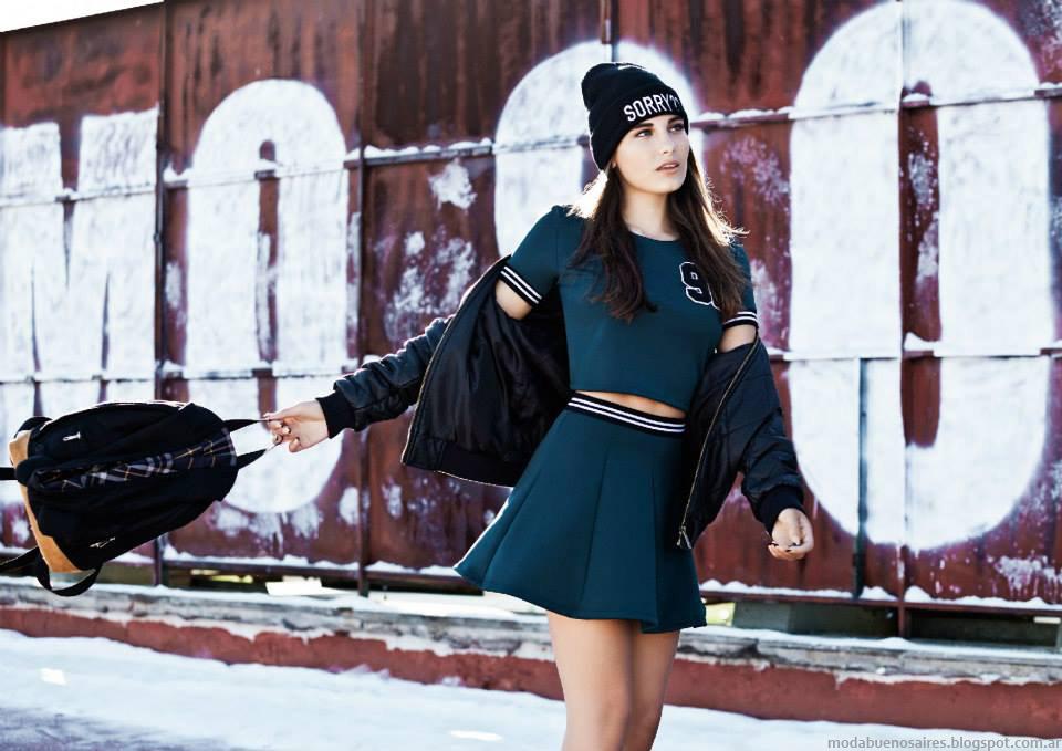 Minis 47 Street otoño invierno 2015. Moda otoño invierno 2015 juvenil.