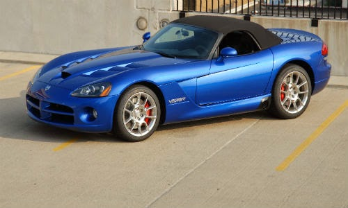 image of dodge viper third generation