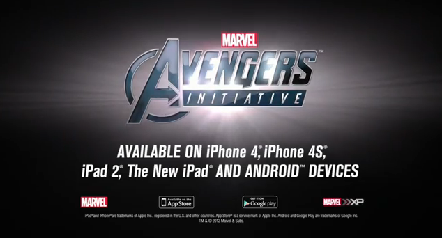Avengers Initiative featuring the hulk first episode for the iOS and Android release