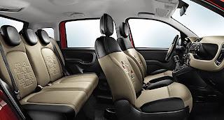 Nuova Fiat Panda 2012, foto statica, interni