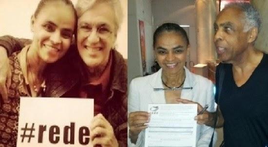 Manifesto de Gilberto Gil e Caetano Veloso em apoio à candidatura de Marina Silva à Presidência