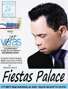 JOE VERAS EN FIESTAS PALACE
