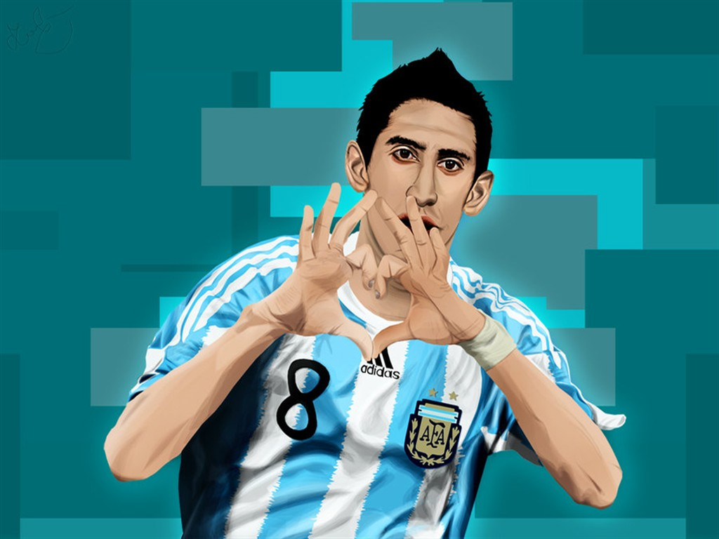 Angel Di Maria Wallpaper Traffic Club