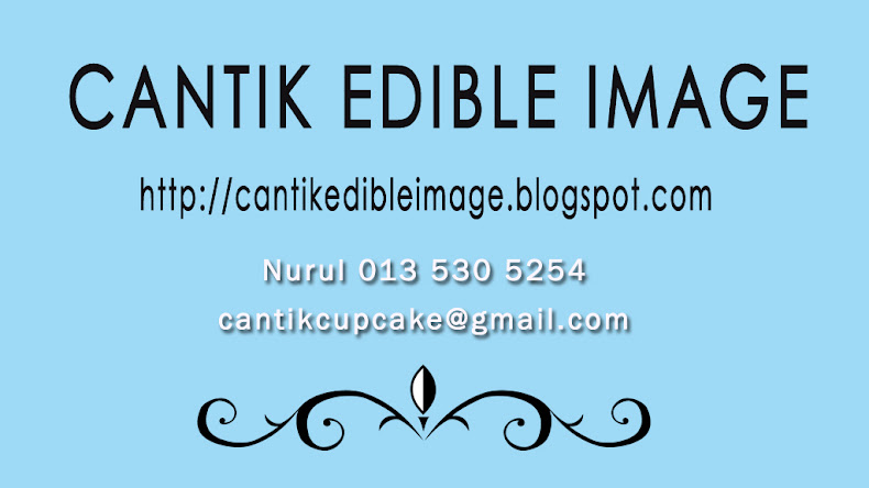 CANTIK EDIBLE IMAGE