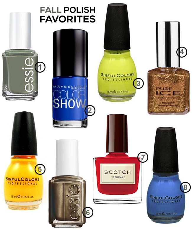 The Best Nail Polishes for Fall (via Bubby and Bean)