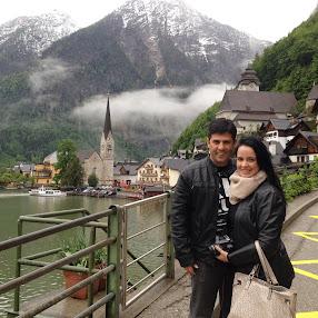 O casal de viajantes