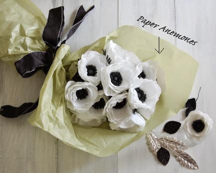 paper anemones flowers