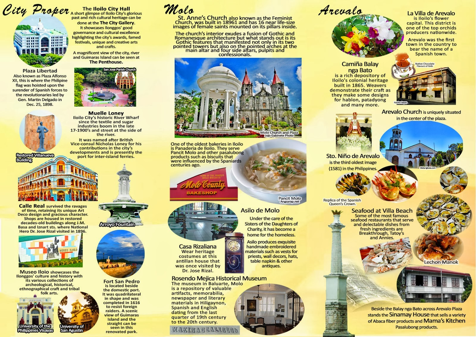 travel brochure sample