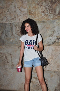 Kangna Ranaur attend the special screening of 'Ship Of Theseus'