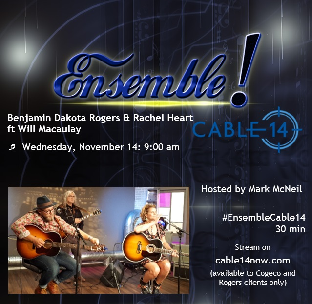 Nov 14: Coming Soon on Ensemble! on Cable 14