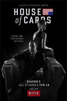 House of Cards - 2ª Temporada Completa Séries Torrent Download completo